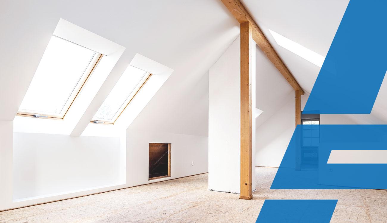 Welche Häuser sind für einen Dachgeschossausbau geeignet? | innen-ausbau.at