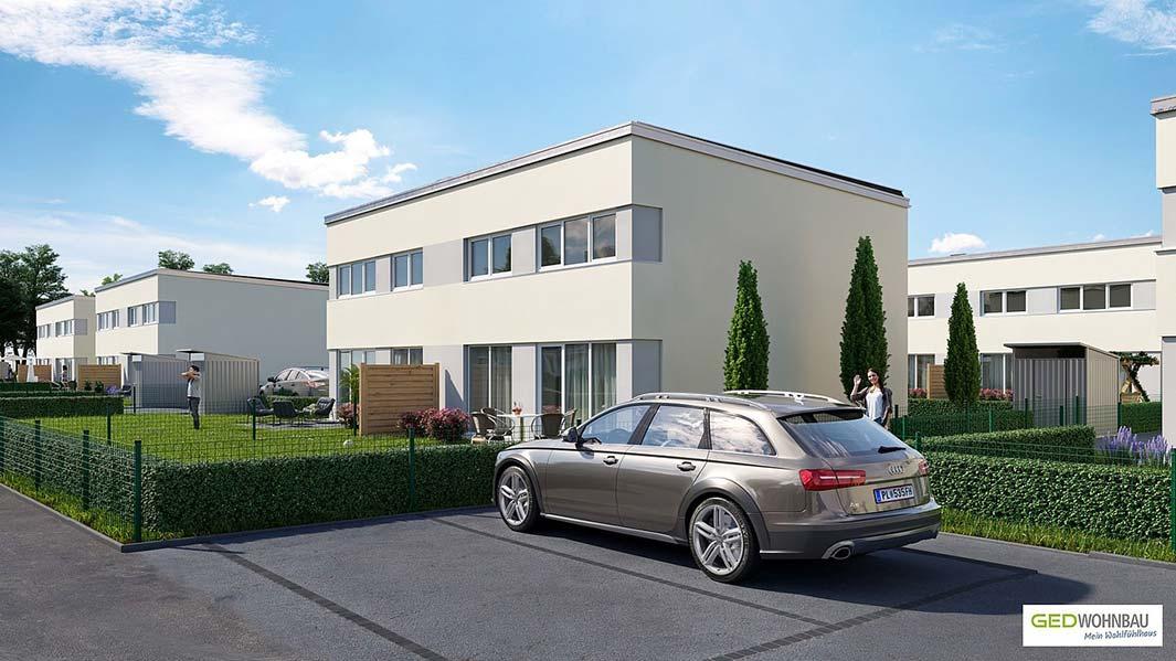 Projekt Wr. Neustadt 2020 © GED Wohnbau