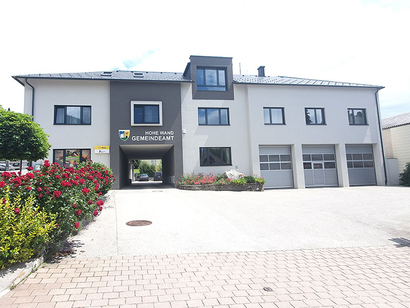 Umbau Gemeindeamt Hohe Wand